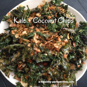 Kale + Coconut Chips